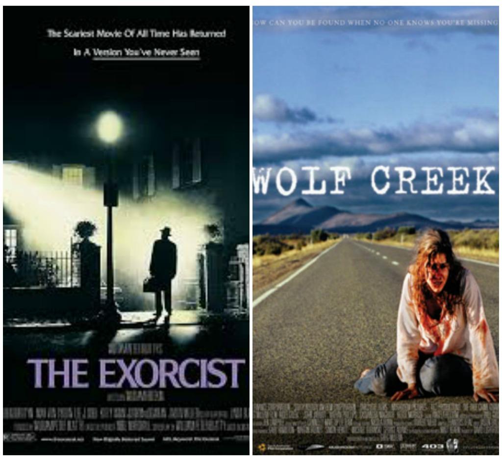 exorcist & wolf creek
