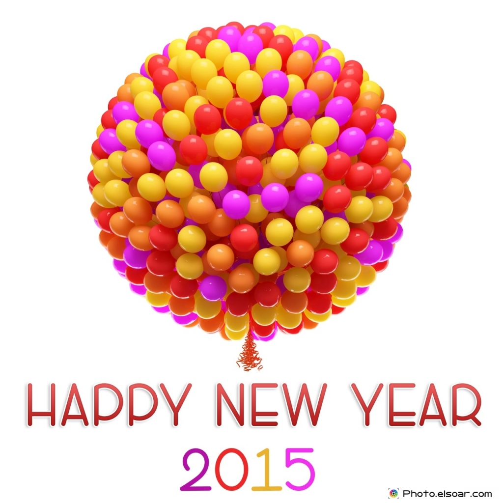 Happy-New-Year-2015-Big-bunch-of-balloons