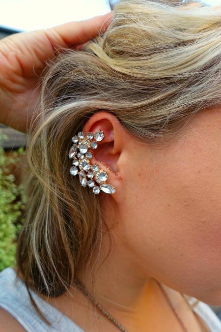 ear cuff close up