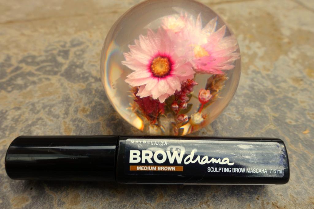 brow drama medium brown mascara