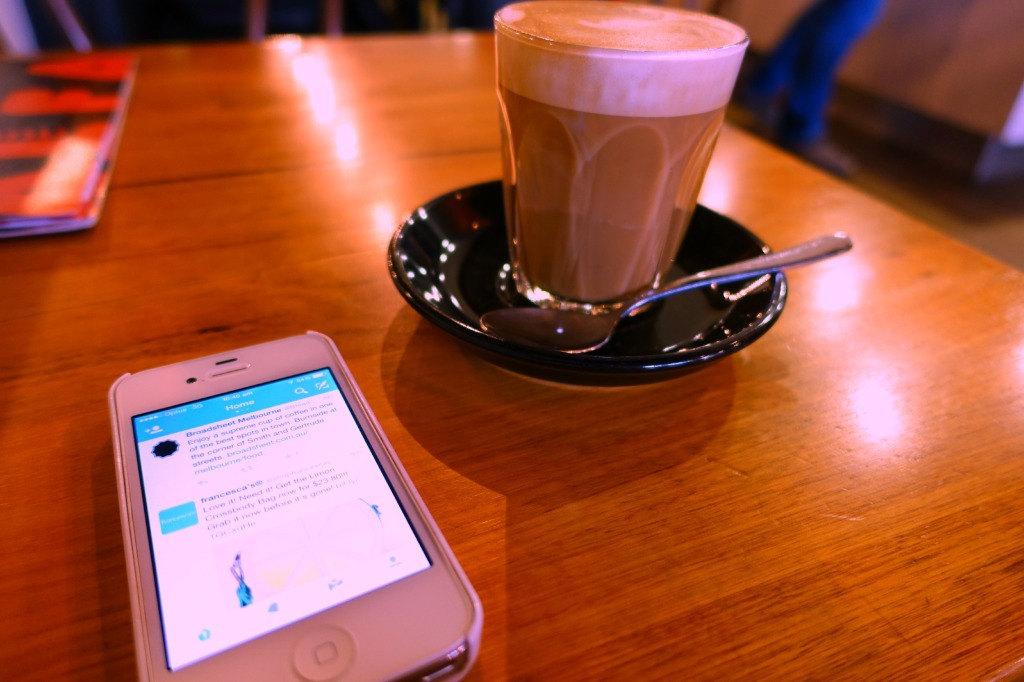 coffee and twitter catchup