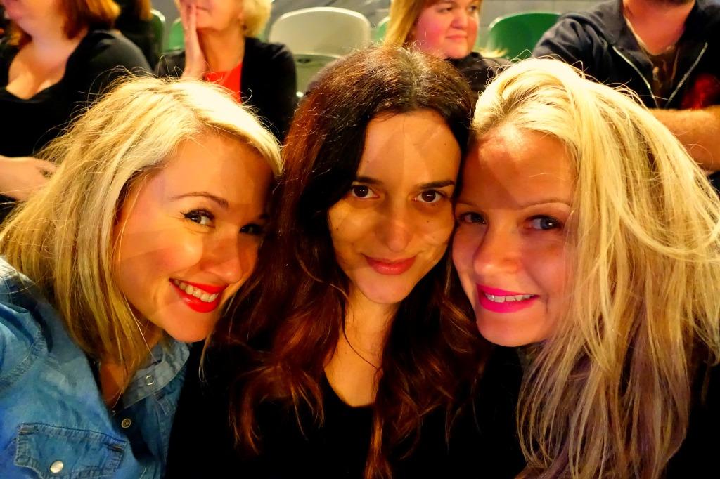 spandau ballet concert selfie
