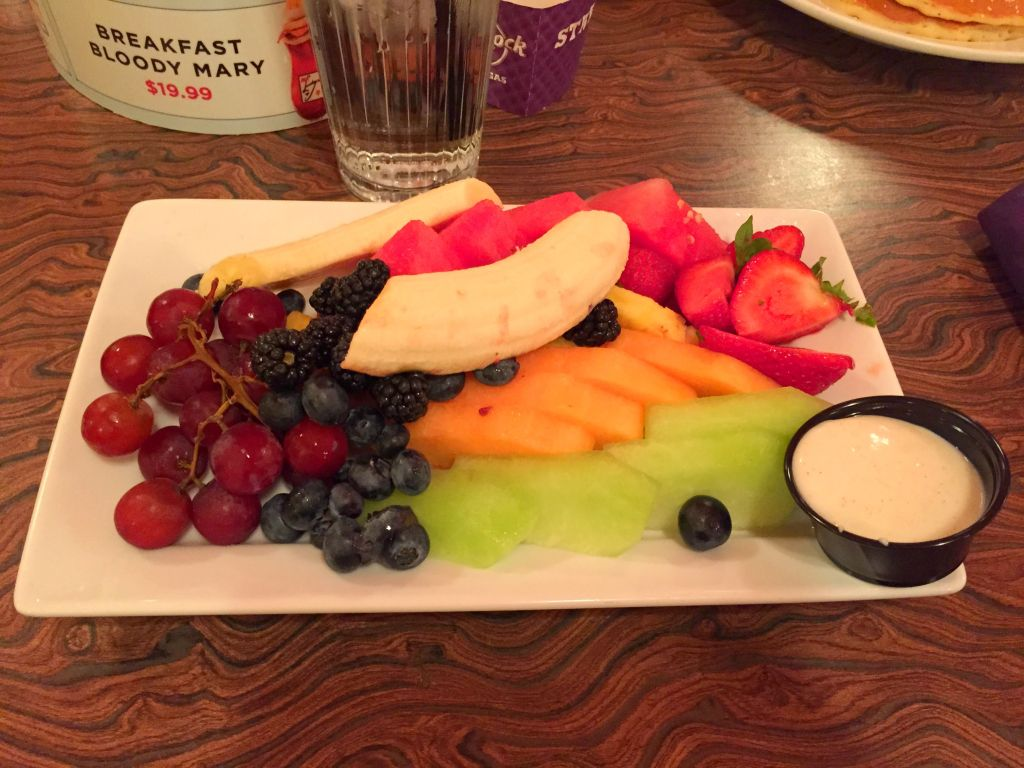 LV_Food_Fruit Plate at Mr Luckys