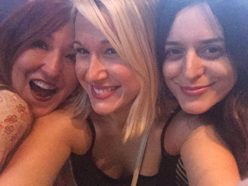 LV_Funsies_Rosie Tez + Karen Selfie