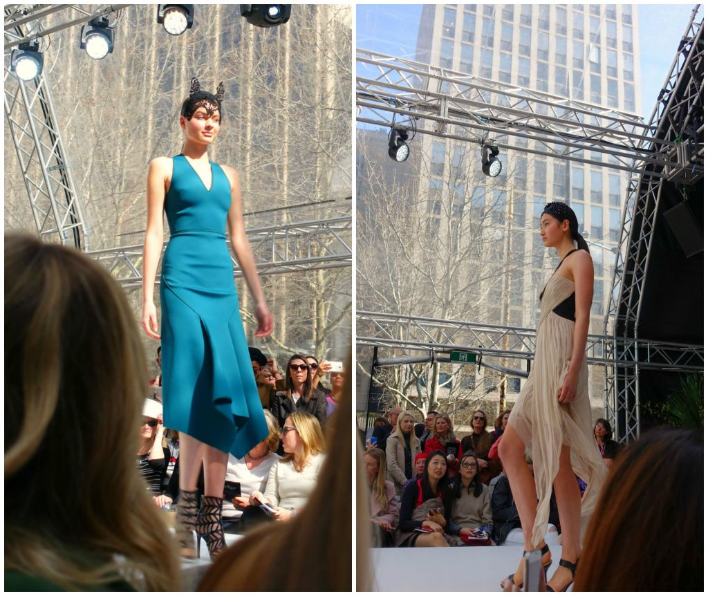 msfw 2015 david jones spring runway