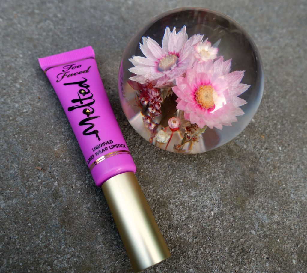 too faced melted violet tube3
