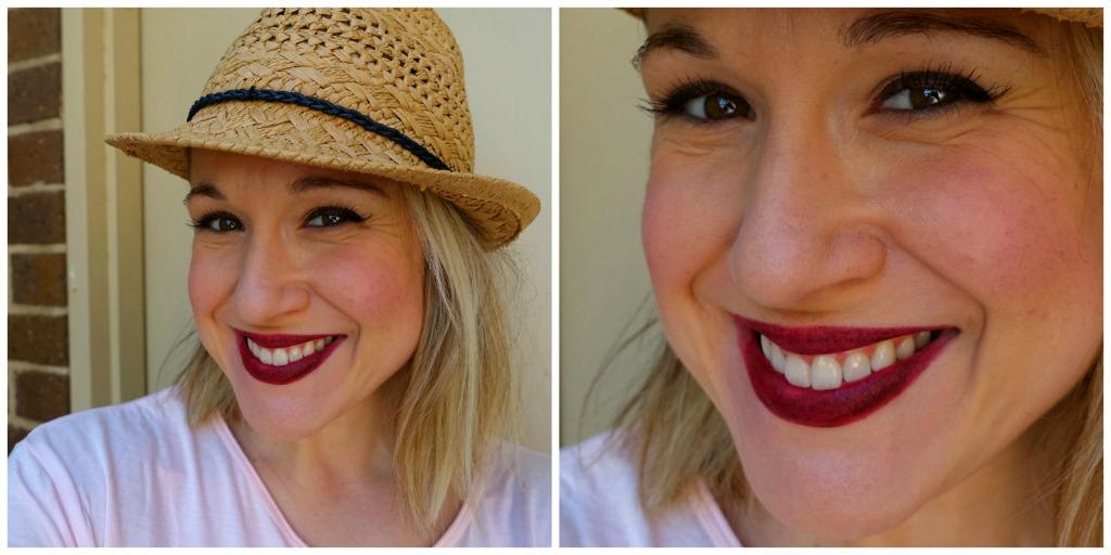 kat von d haul_vampira lipstick_rosie