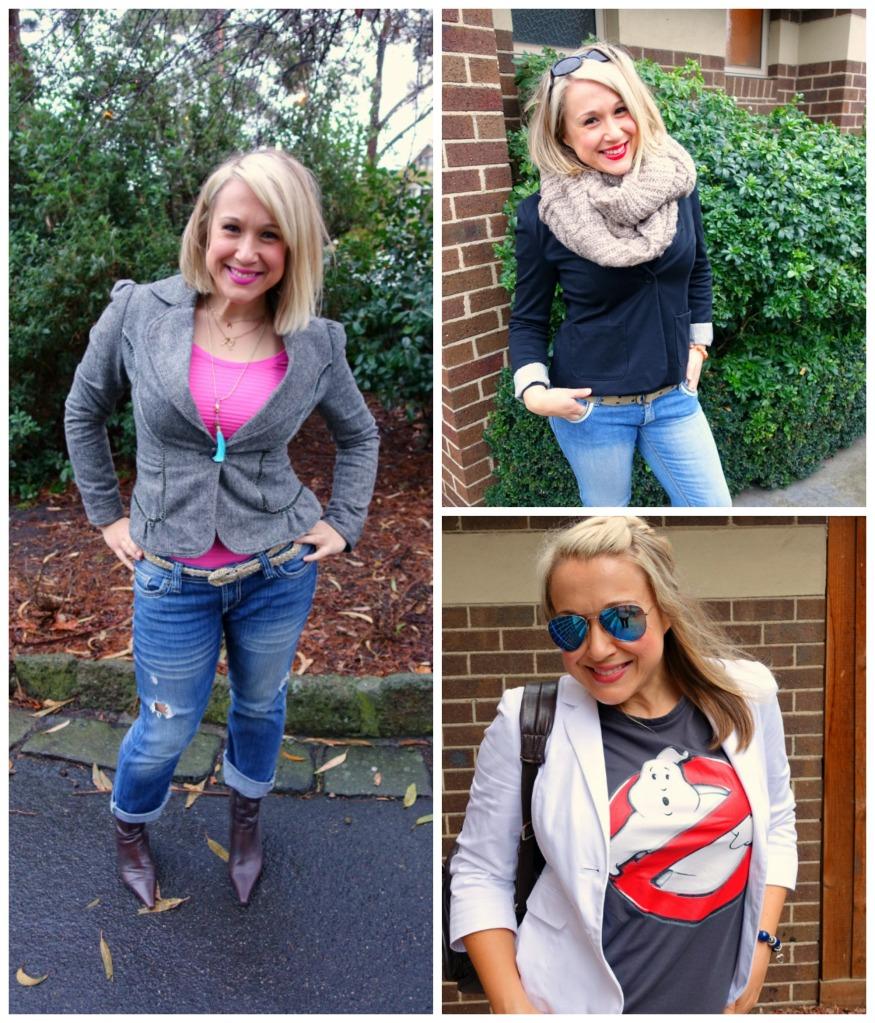 blazer collage