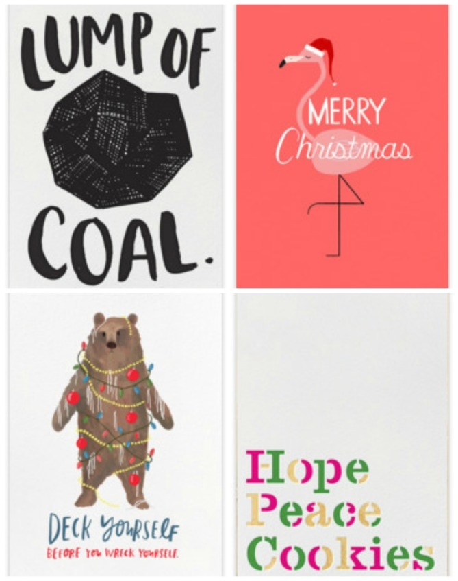 funny xmas cards collage 1