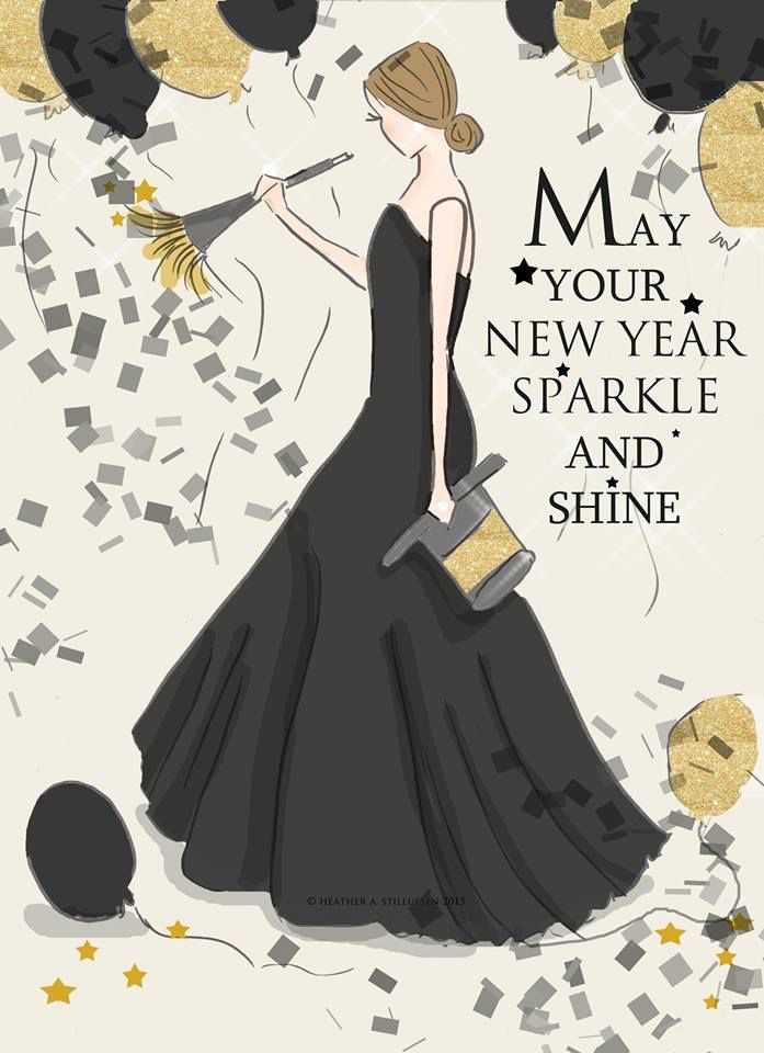 may your new year sparkle and shine