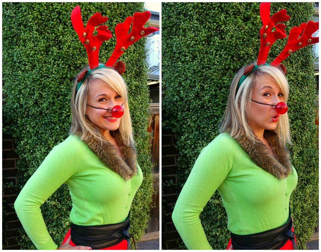 ootd_rosie the red nose reindeer