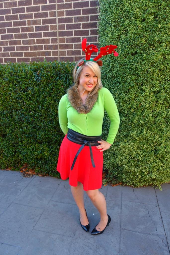 ootd_rosie the red nose reindeer3