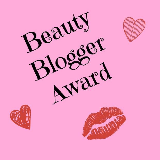 beauty blogger award banner