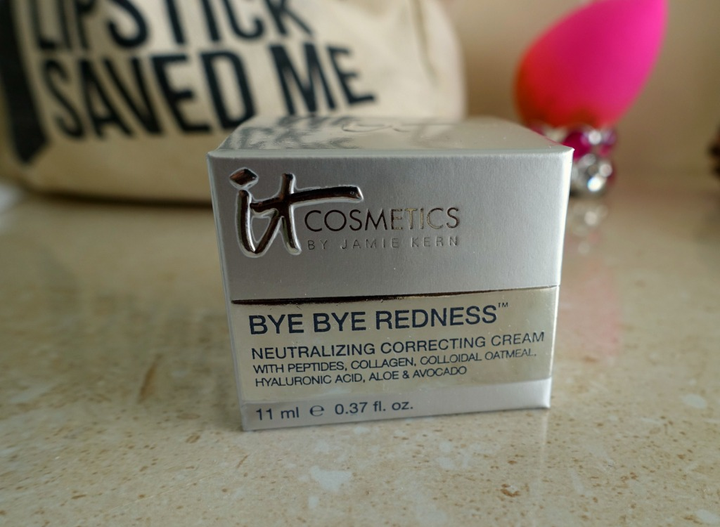 IT cosmetics bye bye redness cream