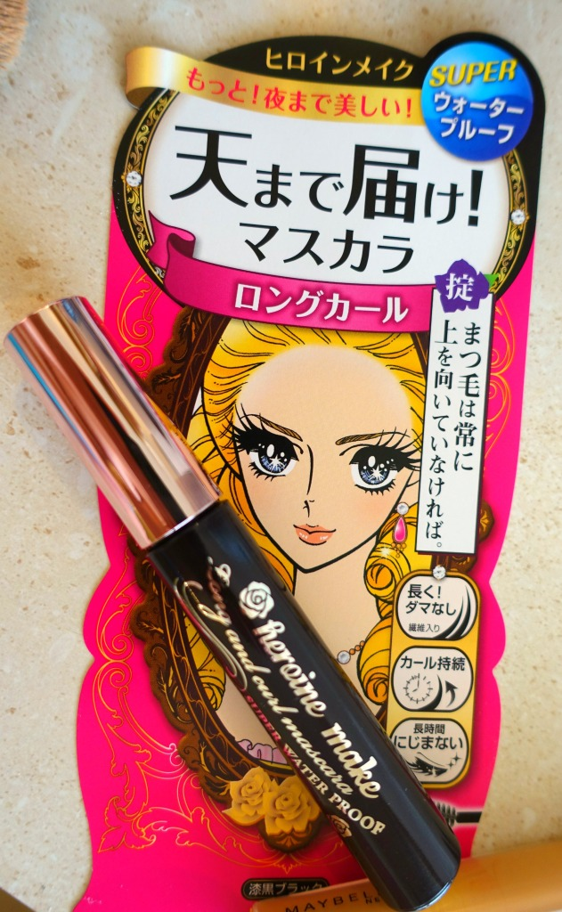 Kiss Me Heroine Long and Curl Mascara_3