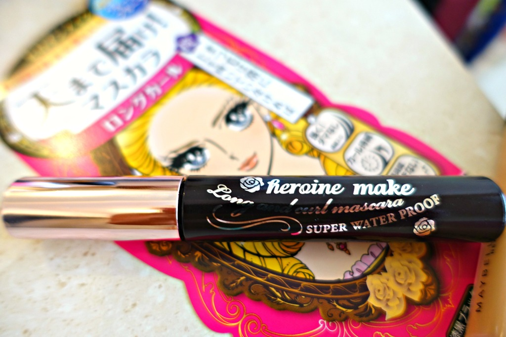Kiss Me Heroine Long and Curl Mascara_4