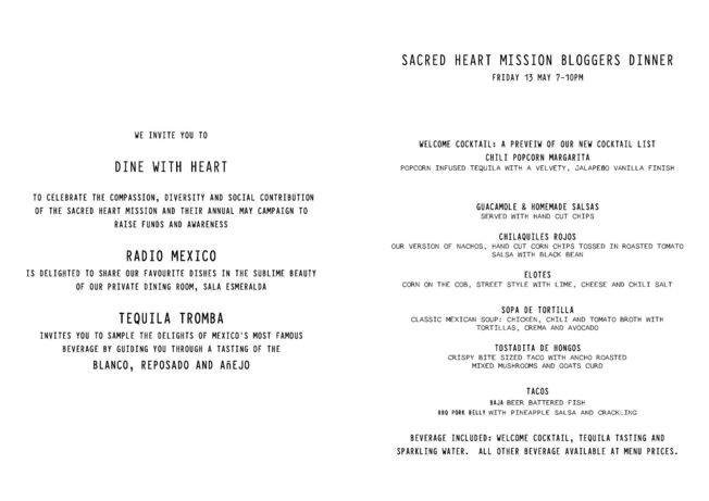bua x dine with heart dinner_menu