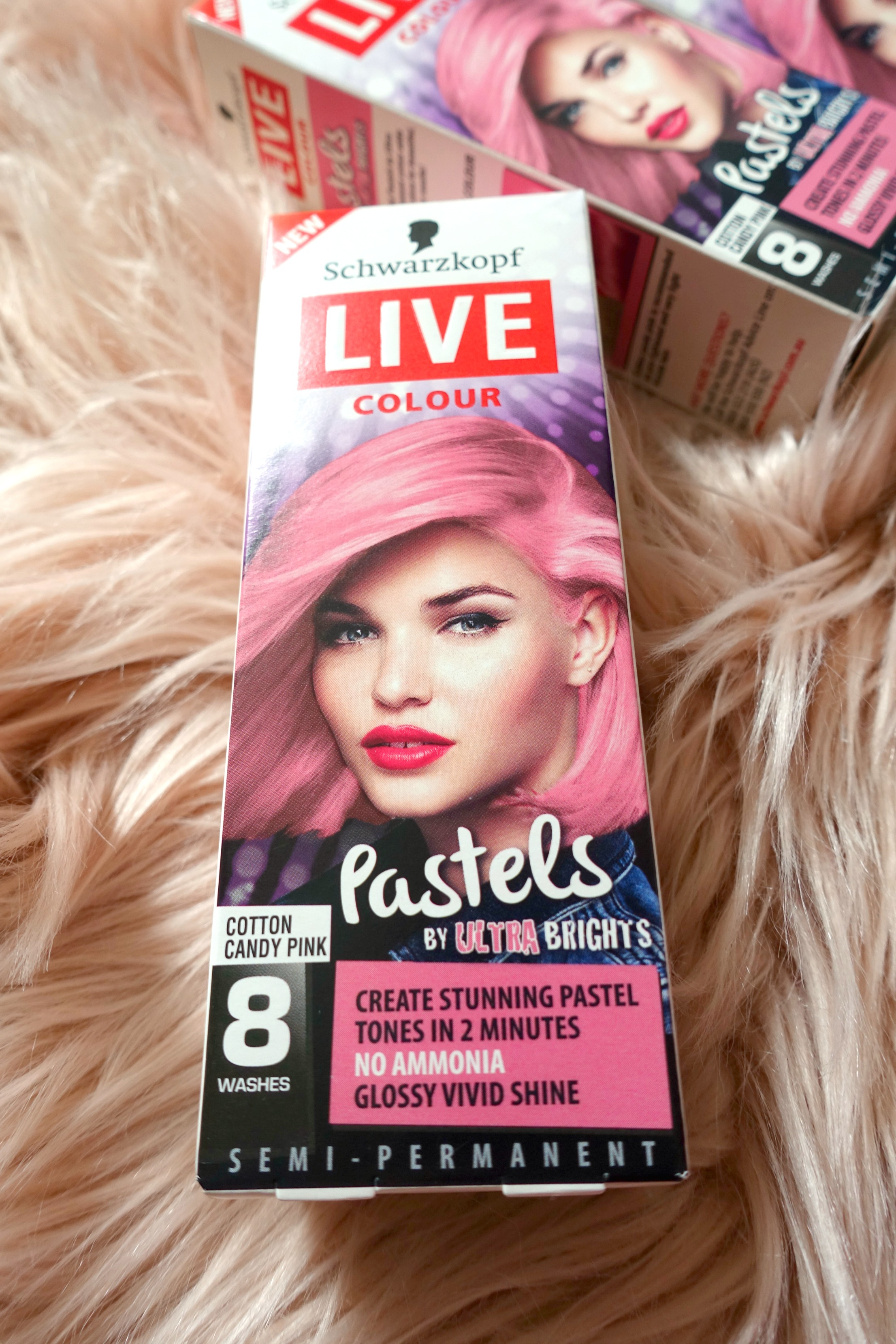 Schwarzkopf Live Colour Pastels Review A Red Lip And A Nude Shoe